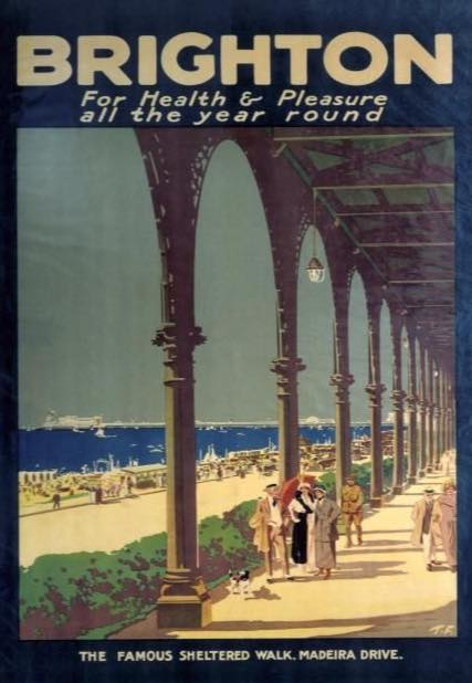 Madeira Terrace in the 60's