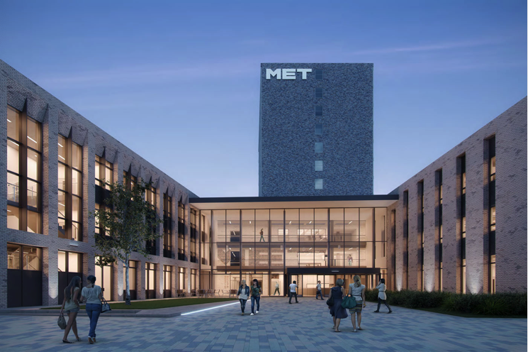 GBMet (City College) development has started on site