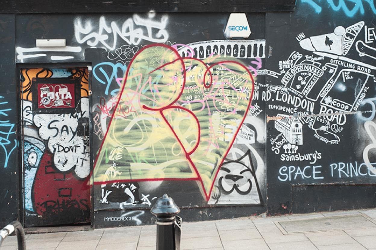 Graffiti Problems in Tattooed City
