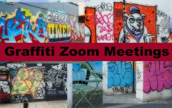 Graffiti Zoom Meeting