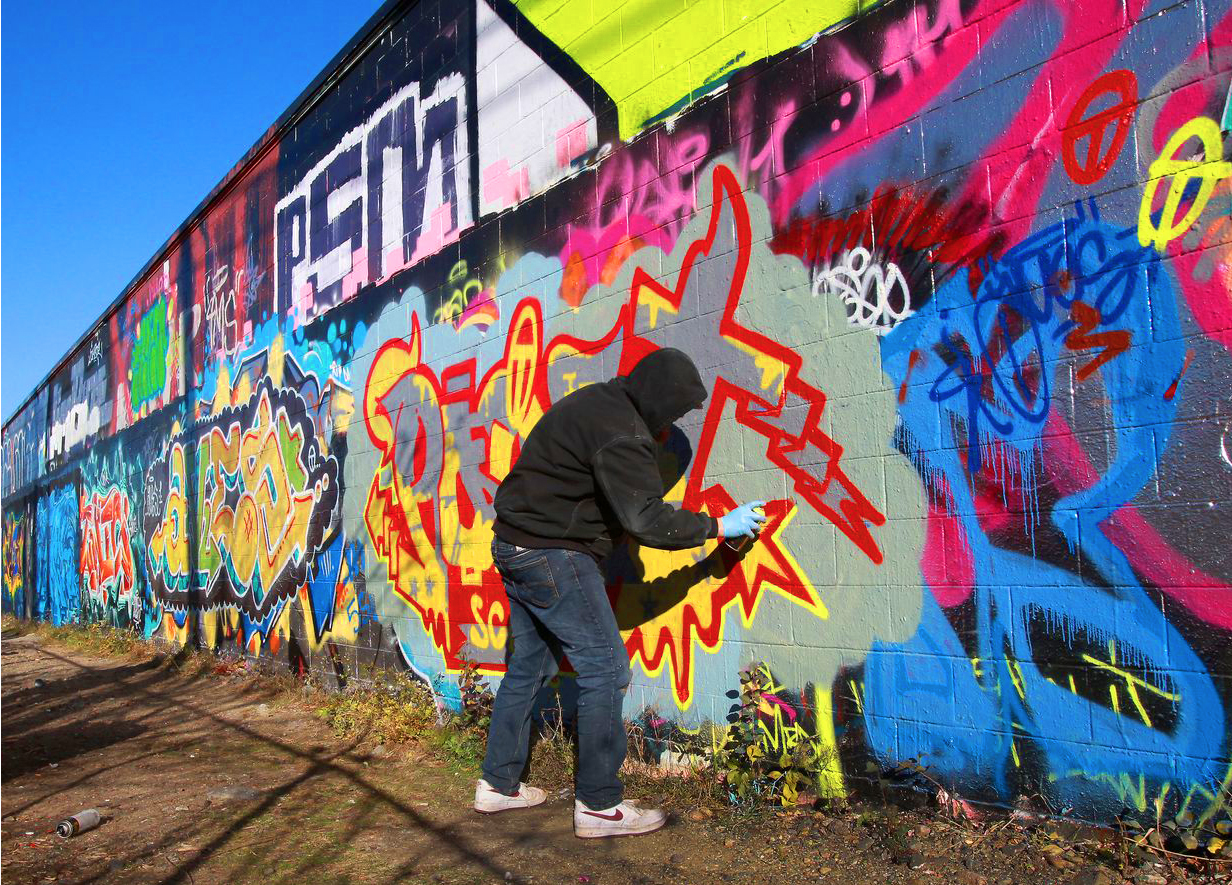 Graffiti and the long grass – What's the point of a Police Commissioner? Particularly if she doesn't reply to your letters.