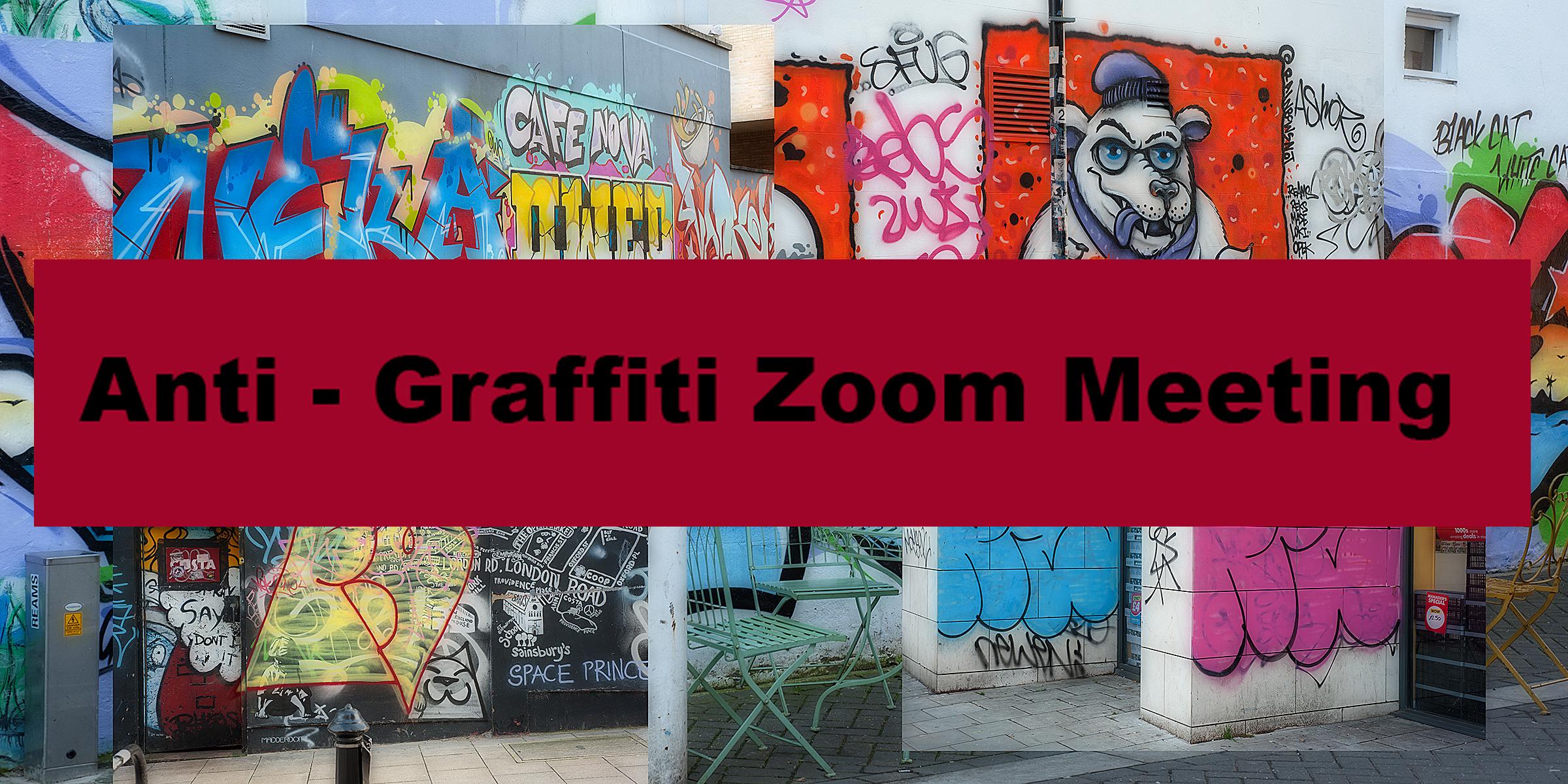 Anti – graffiti Zoom meeting 3