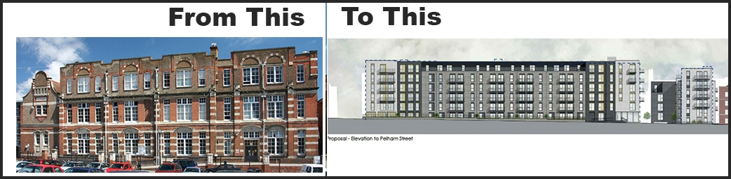 Planners vote to demolish historic Brighton schools – a shabby story of neglect of civil duty