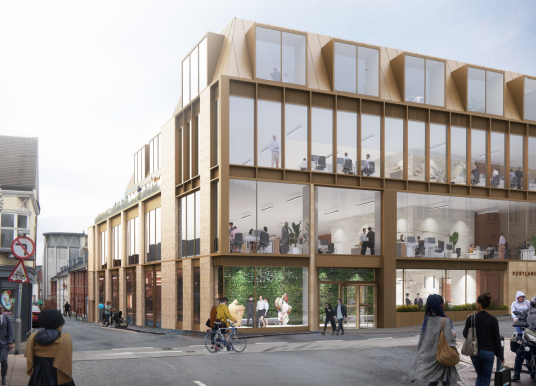 A wasted opportunity in the North Laine : proposed office block at 27 – 31 Church Street