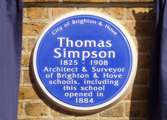 UPDATE: Our Achievements: 2010—2016: Dedication to architect Thomas Simpson