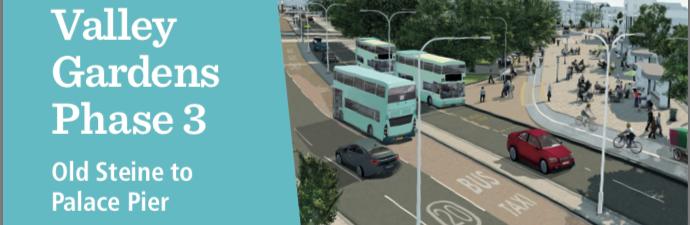 Valley Gardens Phase 3 detail design public consultation – Brighton Society response