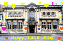 Hove Library 110th birthday pic