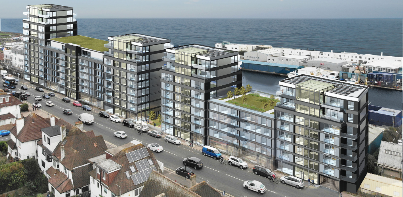 Huge new wall proposed in Hove