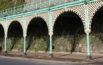 terraces close up